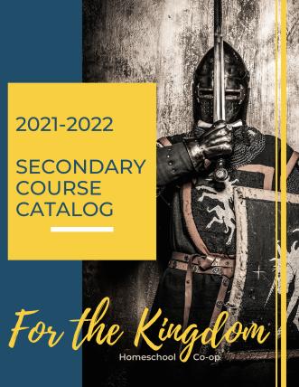 2021-2022 Course Catalog Cover